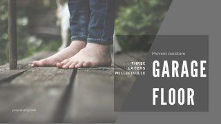 Garage floor_簡単&リーズナブルに施工できる床下防湿加工_3層ミルフィーユ加工を紹介する記事のアイキャッチ2