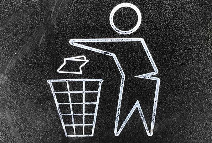 ゴミ捨てのアイコン