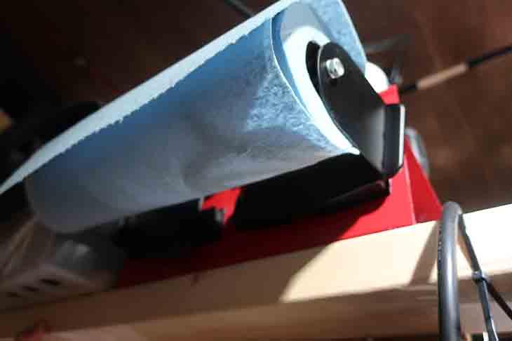 ペーパーホルダーの使用例